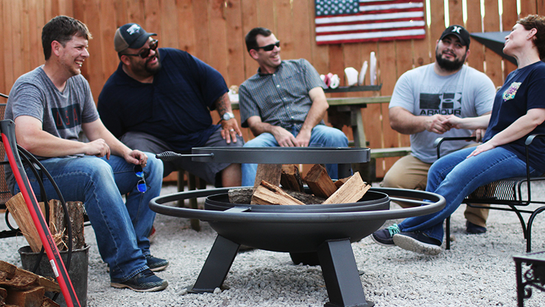 We build fire pits that last. - Heavy Duty Fire Pits TX Gates